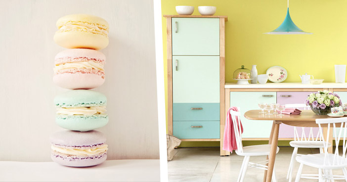 Pastel Candy Pop Colour Kitchen