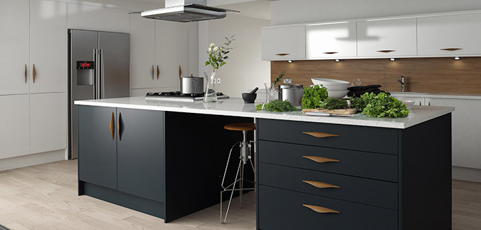 Contemporary Linda Barker Kitchen in Baltic