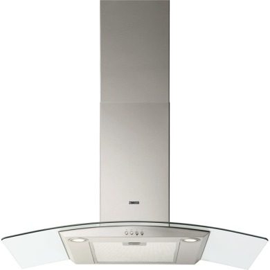 Zanussi H925xW900xD450 Chimney Hood - Stainless