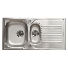 500x965 Loxley 1.5 Bowl RVS S/Steel