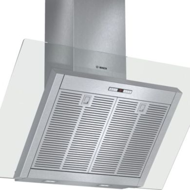 Bosch H865xW900xD441 Chimney Cooker Hood - Stainless Steel and Angled Glass