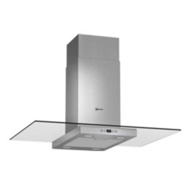 Neff H751xW900xD680 Island Cooker Hood - Stainless Steel and Glass