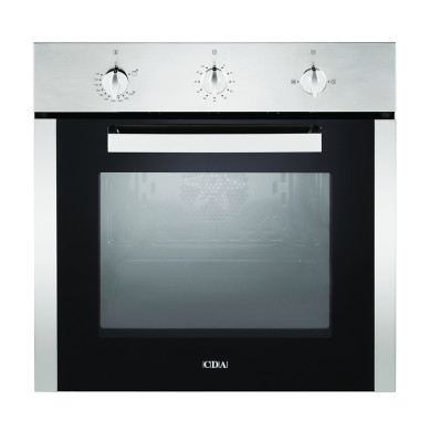 CDA H595xW595xD559 Single Gas Oven - Stainless Steel