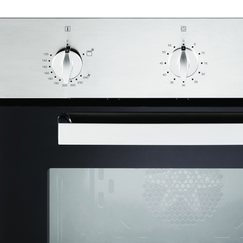 CDA H595xW595xD559 Single Gas Oven - Stainless Steel additional image 3