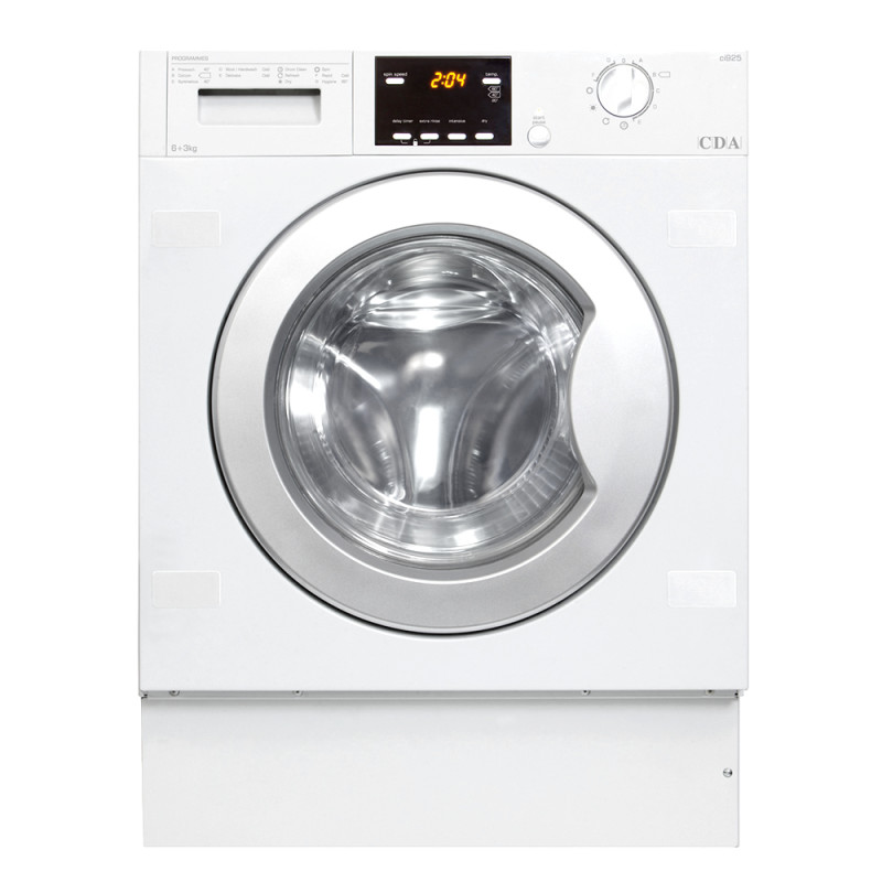 CDA H825xW595xD535 Fully Integrated Condenser Washer Dryer (6kg) primary image