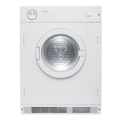 CDA H865xW596xD545 Fully Integrated Vented Dryer (7kg)