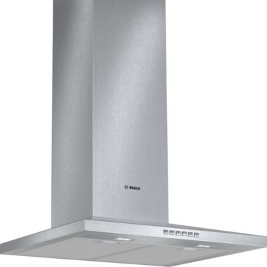 Bosch H672xW600xD500 Chimney Cooker Hood - Stainless Steel