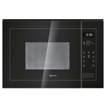 Neff H382xW594xD317 20L Integrated Wall Microwave - Black