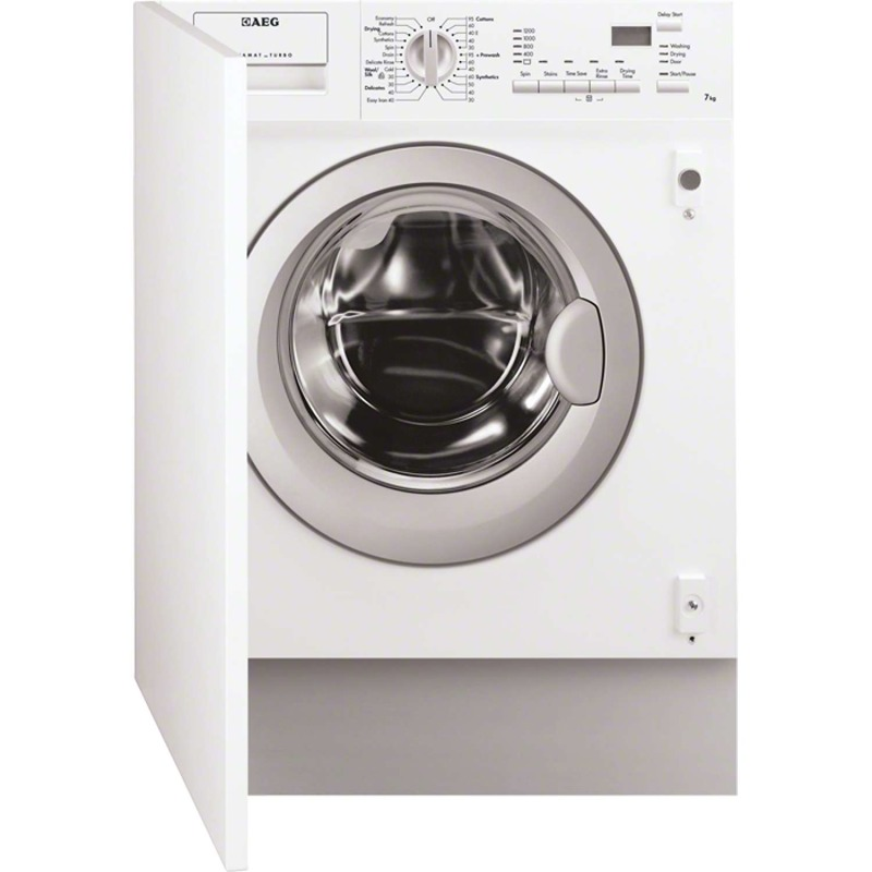 AEG H820xW600xD555 Fully Integrated Washer Dryer (7kg) primary image