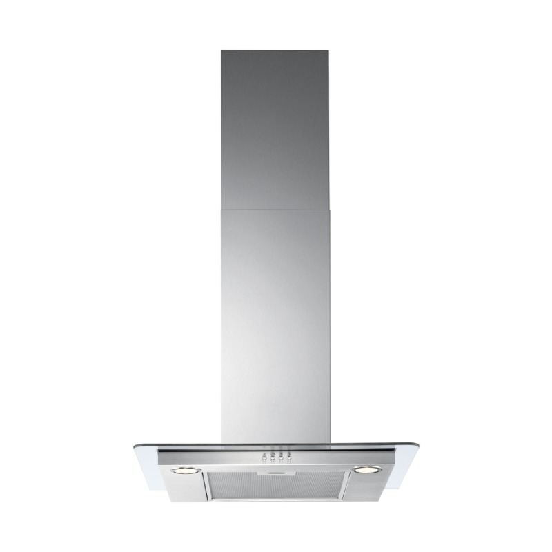 Zanussi H36xW598xD450 Chimney Hood - Stainless Steel & Flat Glass primary image