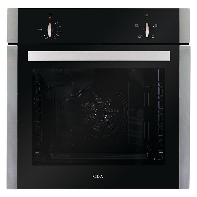 CDA H595xW595xD571 Single Electric Fan Oven - Stainless Steel primary image