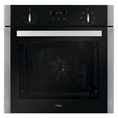 CDA H595xW595xD571 Single Multi-Function Oven - Stainless Steel