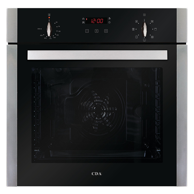 CDA H595xW595xD571 Single Multi-Function Oven - Stainless Steel primary image