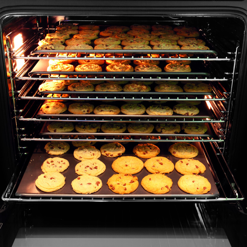 CDA H595xW595xD571 Single Multi-Function Oven - Stainless Steel additional image 2