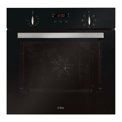 CDA H595xW595xD571 Single Multi-Function Oven - Black