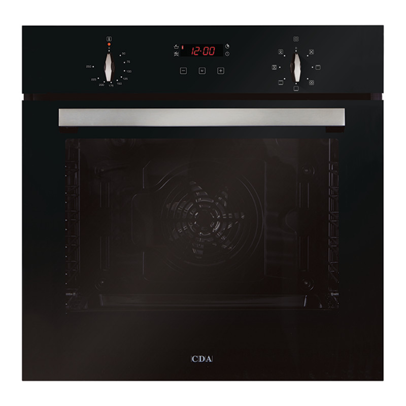 CDA H595xW595xD571 Single Multi-Function Oven - Black primary image
