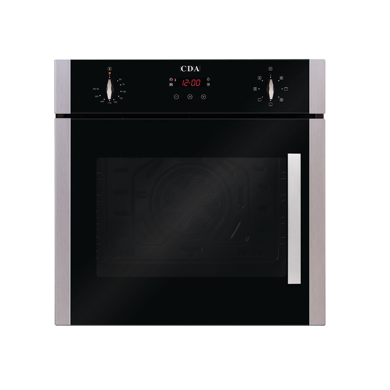 CDA H595xW595xD564 Single Multi-Function Side Opening Oven - Stainless Steel primary image