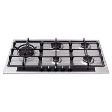 CDA H35xW860xD500 Gas Hob 5 Burner - Stainless Steel