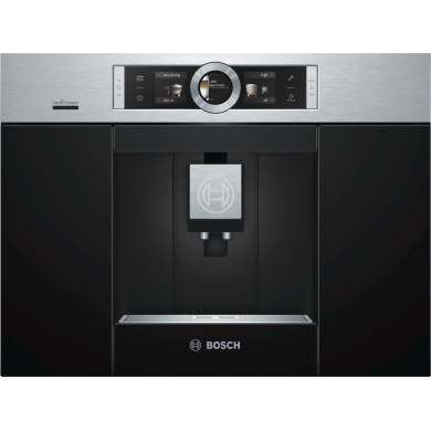 Bosch H455xW594xD375 - Coffee Machine - Stainless Steel