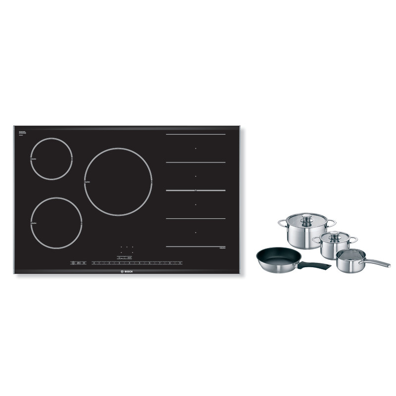 Bosch H51xW816xD527 FlexInduction 5 Zone Hob - Black - PIP875N17E primary image