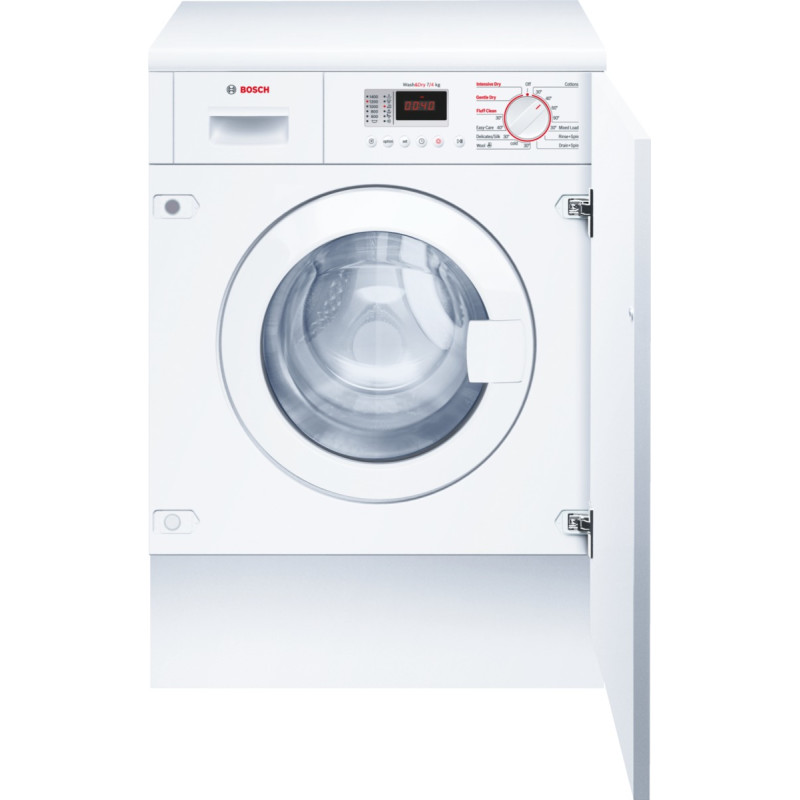 Bosch H820xW595xD550 Integrated Washer Dryer primary image
