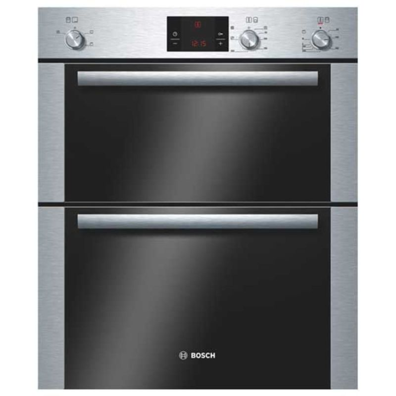 Bosch H717xW595xD550 Built Under Electric Double Oven - Stainless Steel primary image