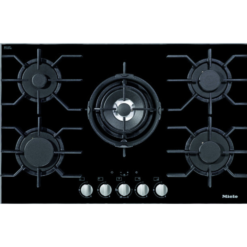 Miele H40xW806xD536 5 Zone Glass Gas Hob primary image