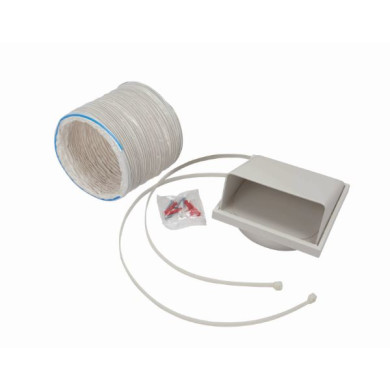 CDA 125mm x 1m Round Hose Ducting Kit