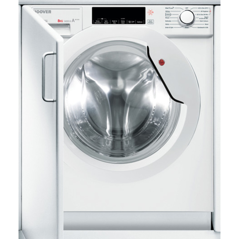 Hoover H820xW596xD570 Fully Integrated Washing Machine 8KG primary image