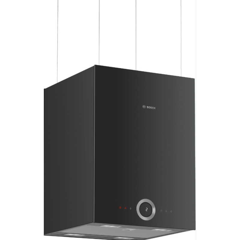 Bosch H501xW370xD377 Island Cube Hood-HomeConnect - Black primary image