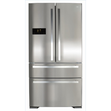 CDA H1850xW910xD760 Two Door Fridge With Two Drawer Freezer - Stainless Steel