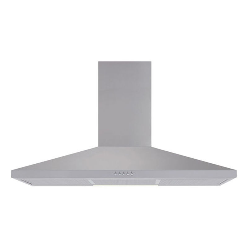 Matrix H936xW900xD490 Chimney Cooker Hood - Stainless Steel primary image