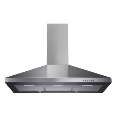 CDA H1020xW900xD500 Chimney Cooker Hood - Stainless Steel