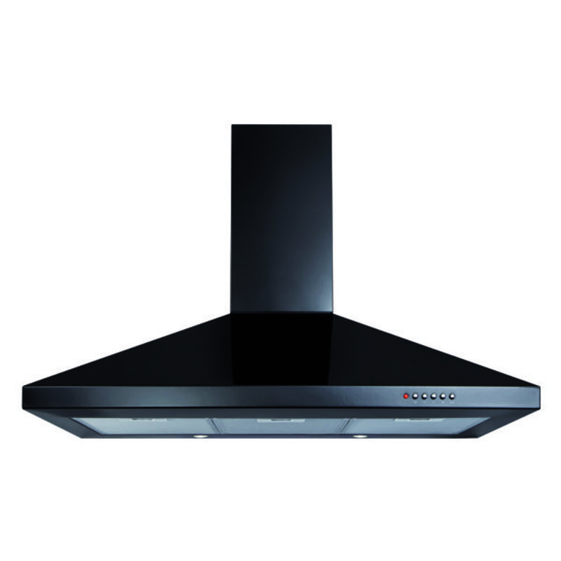 CDA H1020xW900xD500 Chimney Cooker Hood - Black primary image