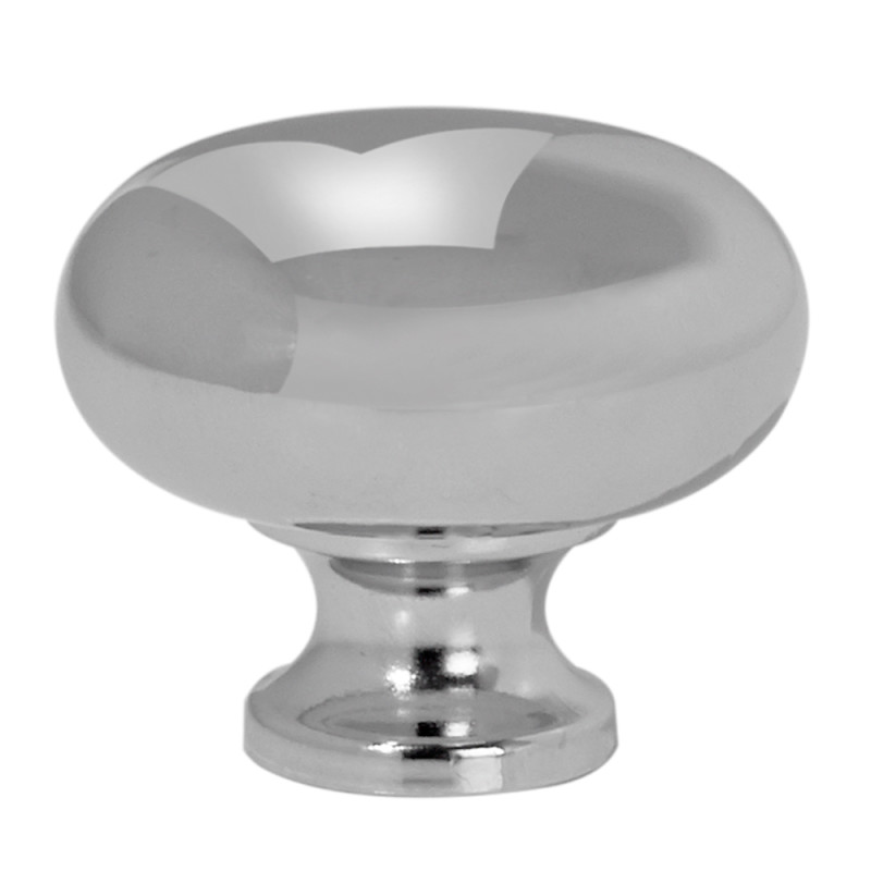 32mm Ruby Chrome Knob primary image