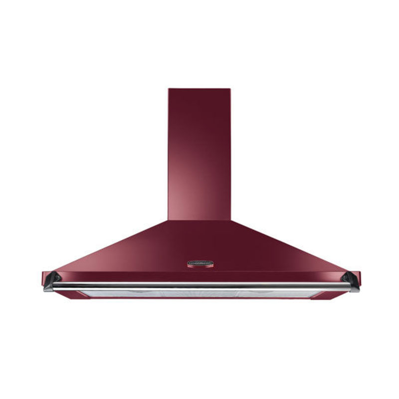 Rangemaster CLAHDC90CY/C Classic 900mm Chimney Cooker Hood - Cranberry - CLAHDC90CY/C primary image