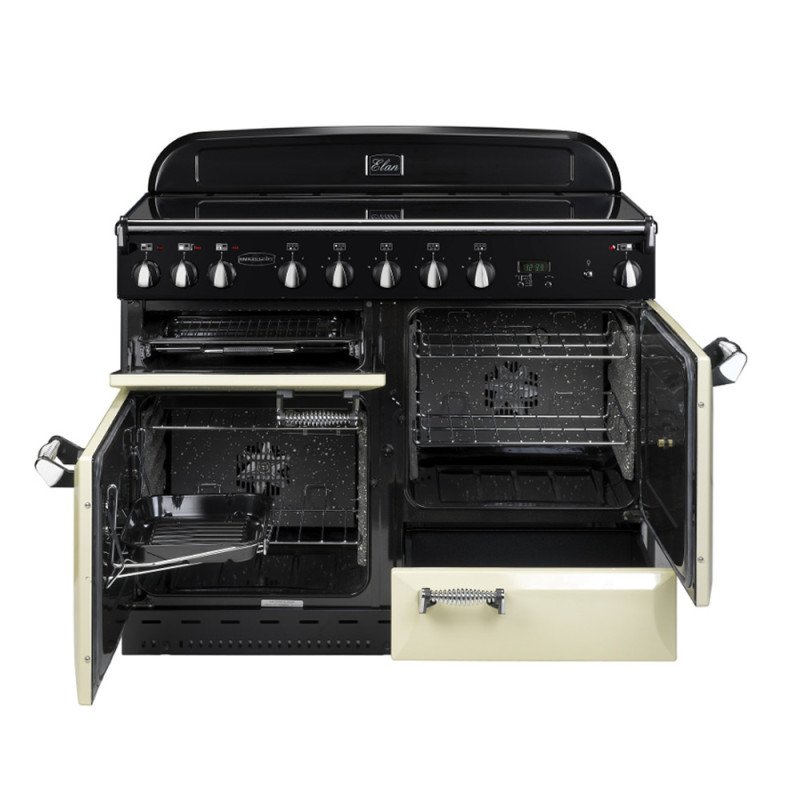 Rangemaster CDL110EICR/C Classic DL 110 Induction - Cream/Chrome - CDL110EICR/C additional image 1