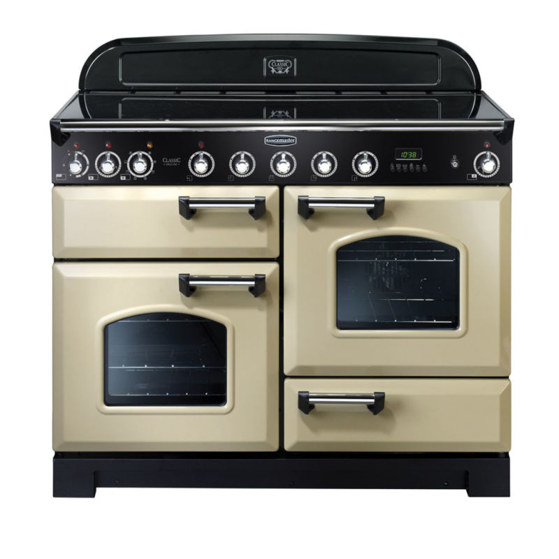 Rangemaster CDL110EICR/C Classic DL 110 Induction - Cream/Chrome - CDL110EICR/C primary image