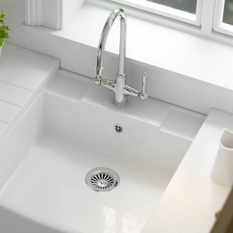 Fortuna Tap Chrome with Chrome Handles - High/Low Pressure additional image 6
