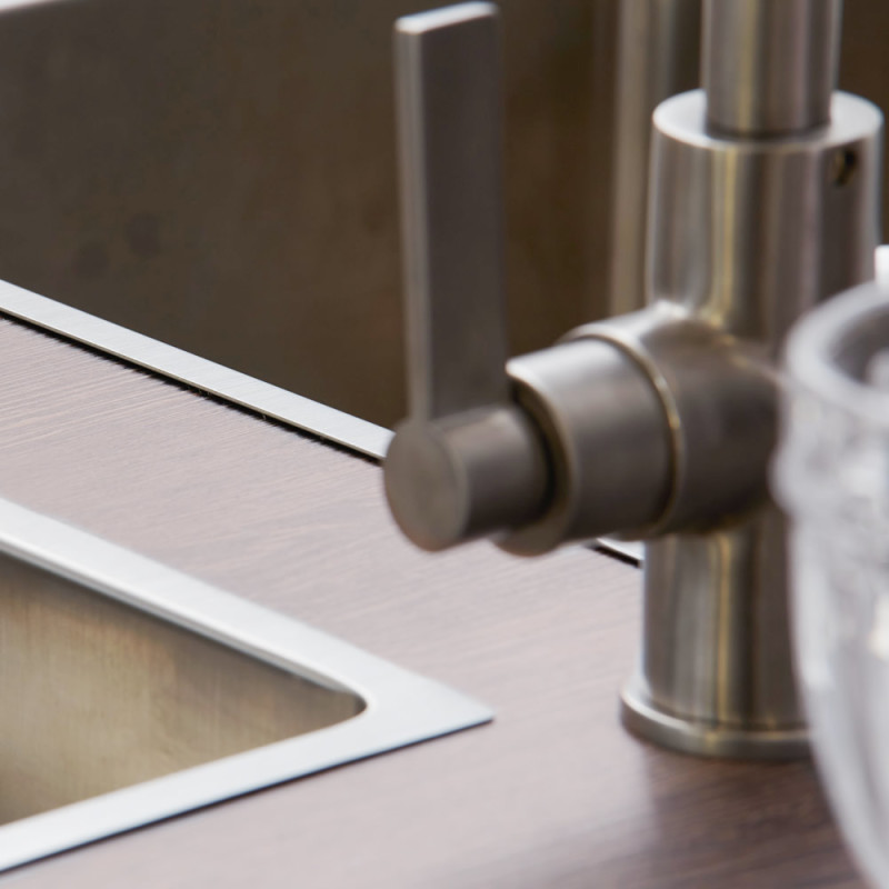 Aurora Tap Brushed Steel - High/Low Pressure additional image 2