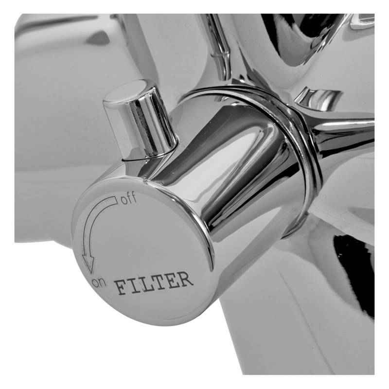 Zeus Filter Tap Chrome - High/Low Pressure additional image 4